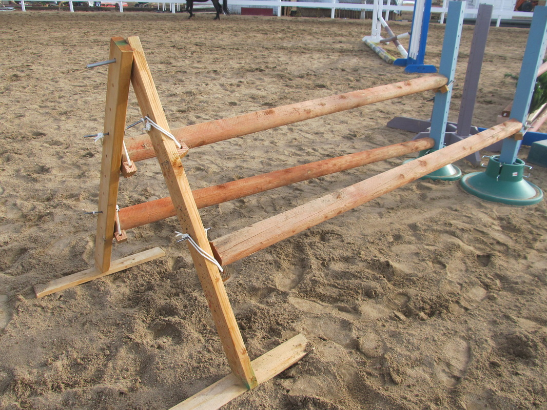 how to build horse obstacles